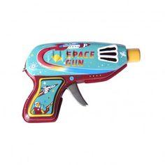 Yone Space Gun by Protocol: Sparking   space gun, a great repro '50's favorite. #Space_Gun #Toys