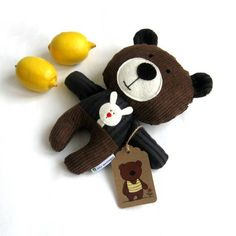 Rag Doll Teddy Bear