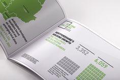 Portfolio project: Building solutions brochure infographic | Beehive Green Design Studio