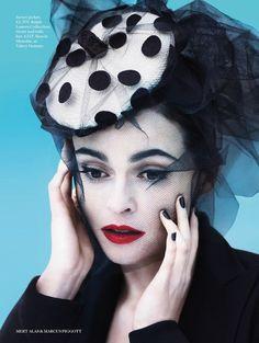 Helena Bonham Carter by Mert Alas & Marcus Piggott
