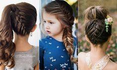 Ocho peinados fáciles para que tu hija brille