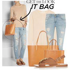 """Get The Look: It Bag - MANSUR GAVRIEL"" by martso on Polyvore"