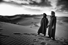 "Morroccans at Sahara Desert. Morocco ""in the sand for 40. Rest now, then a path for decisions. Alone and connected. ""I need myself"""