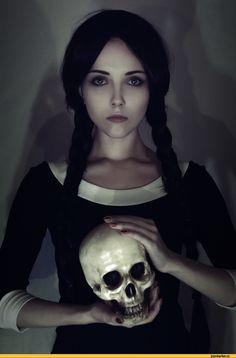 няшка,cosplay,The Addams Family,Семейка Аддамс