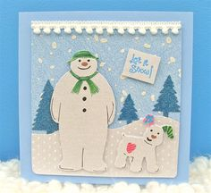 Snowman and Snowdog Happy Christmas | docrafts.com
