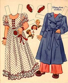 Beatrice   An Old Fashioned Girl The International Paper Doll