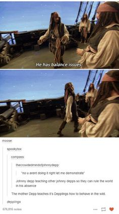 "100 Johnny Depp Funny Captain Jack Sparrow Quotes Johnny Depp Quotes ""Me, I'm dishonest, and you can always trust a dishonest man to be dishonest. Honestly, it's the honest ones you have to watch out for."" How Did You Know Oh My God My Ship Disney Marvel, Marvel Dc, Captain Jack, Tumblr Funny, Funny Memes, Hilarious, Funny Quotes, Disney And Dreamworks, Disney Pixar"