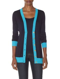 OBR Colorblock Cardigan | Women's Sweaters | THE LIMITED