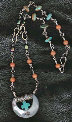 Antique Belt Buckle Necklace
