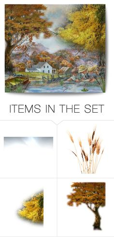 """""""Frog Watchin'"""" by blondemommy ❤ liked on Polyvore featuring art, artset and artandexpression"""