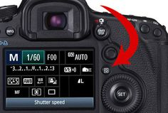 Master your Canon camera - Use the camera setting shortcuts