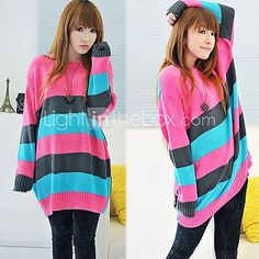 Freizeit Silhouette Fashion Colours, Color Stripes, Silhouette, Knitwear, Clothes, Shopping, Outfits, Clothing, Tricot