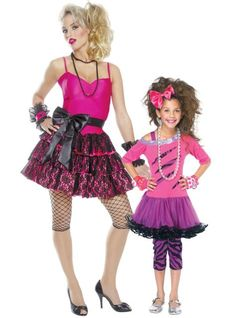 80s Mommy and Me Costumes - Party City