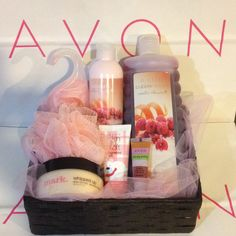 Mixed Avon/Mark Gift Basket                                                                                                                                                                                 More