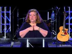 Betsy Barber: Praying With Jesus (The Lord's Prayer) - Torrey Memorial Bible Conference 2013 - YouTube