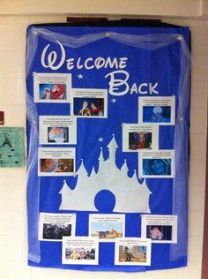 University of Arkansas - Reid Hall 7th Floor Bulletin Board for January 2014  Motivational Quotes from Disney