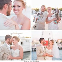 """Gorgeous Couple & Wedding tying it together with a Fisherman's knot as they say, """"I DO.""""  Twist of Fate Imagery"""