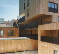 TVK - Rue de Lourmel mixed use project, including social housing units, a retirement home, community center, commercial spaces, daycare, and nursery, Paris 2015