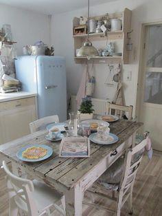 Detalles vintage para decorar la cocina  #decoracion #vintage