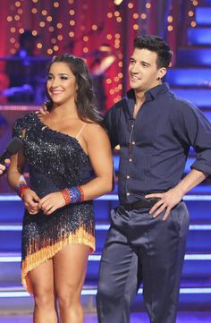 Week 5 Dancing with the Stars - ABC.com,  Aly R. and Mark Ballas, Season 16 (Spring 2013).  They are one of my favorite couples!