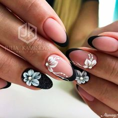 Unghie e fiori 3d Nail Art, Funky Nail Art, Funky Nails, Nail Arts, Owl Nails, Minion Nails, Coffin Nails Matte, Nude Nails, French Nails