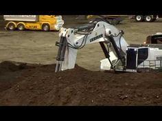 BRUDER and more RC toys - modellbau Wels 2017 megamix - trucks, excavators, tractors! - YouTube