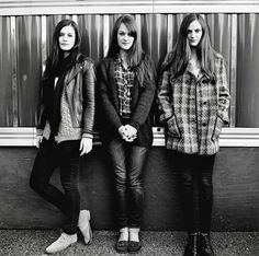 The Staves. They're just beautiful.  Wonderful, lovely harmonies.