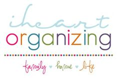 organize, organize, organize good-to-know