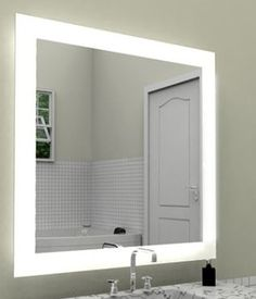 Cordova Mirrors On Pinterest Lighted Mirror Polished