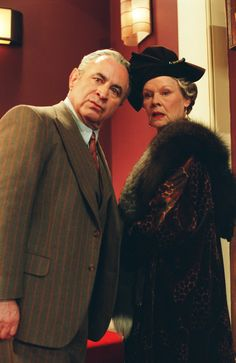 Bob Hoskins and Judi Dench in Mrs. Henderson Presents/.One of my favorite Judi Dench movies --- one of my favorite movies! Love Movie, I Movie, Movie Stars, English Actresses, Actors & Actresses, The Long Good Friday, Bbc, Sandy Powell, Shakespeare In Love