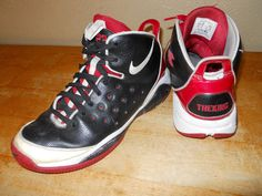 Men's 12 Nike Lebron 10 X Custom The King Black Red White Shoes in Clothing, Shoes & Accessories, Men's Shoes, Athletic | eBay