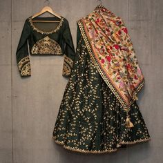 Shop latest Black Lehenga Designs for women from a wide range of Black Color Lehengas at Mirraw Online Store at best prices with worldwide fast shipping Black Lehenga, Indian Lehenga, Silk Lehenga, Anarkali Lehenga, Silk Dupatta, Ghagra Choli, Lehenga Choli Wedding, Pakistani, Indian Wedding Outfits