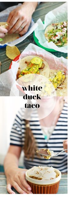 White Duck Taco Shop--yummy tacos, outdoor dining in Asheville