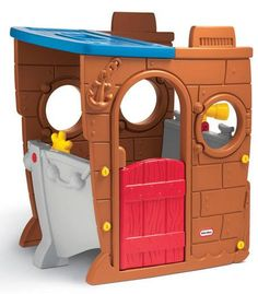 Here we go! I Little Tikes Pirate Play House.