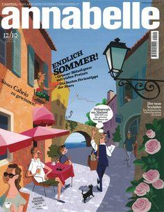 Annabelle Mag : Finally Summer! : cover illustration by Satoshi Hashimoto www.dutchuncle.co.uk/satoshi-hashimoto