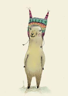 Llama by Paola Zakimi
