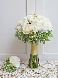 Купить Букет невесты / Белый свадебный букет - букет невесты белый