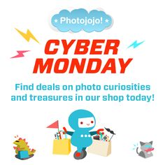 Photojojo has the most awesomest photo stuff... and a Cyber Monday sale!