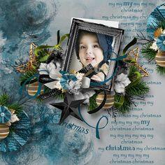 """No ordinary christmas"" _ DelphDesigns Scrap (RAK Lily Fisher) :  http://www.myscrapartdigital.com/shop/index.php?main_page=index=24_49"