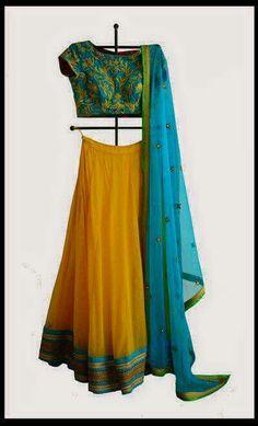 Half saree
