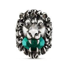 2ca058f55 Lion head ring with crystal Lion Sculpture, Statue, Art, Kunst, Sculpture,