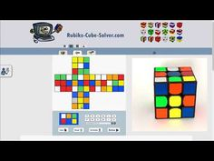 The online Rubik's Cube solver calculates the steps needed to solve a scrambled Rubik's Cube. Enter the colors of your puzzle and let the program find the solution