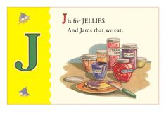 J is for Jellies Premium Poster at Art.com