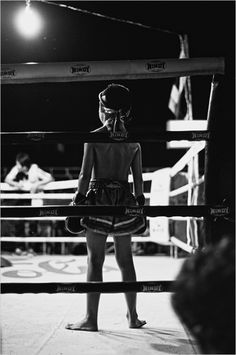 Muay Thai Kids - Fight Night by Jason Ness, via Behance