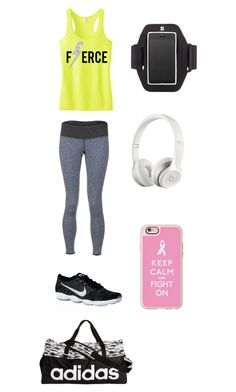 """""""Workout Day With 5sos"""" by kelseyjennings411 on Polyvore featuring Carve Designs, NIKE, adidas, Sweaty Betty, Beats by Dr. Dre and Casetify"""