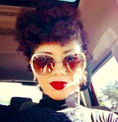 Kimberly is Naturally Glamorous! | Curly Nikki | Natural Hair Styles and Natural Hair Care