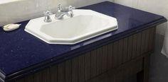 pedra banheiro azul - Pesquisa Google