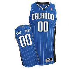 Magic Personalized Authentic Blue NBA Jersey (S-3XL) Orlando Magic 4eb2d0b10