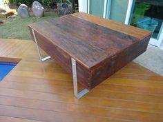 Mesa de centro rústica Atelier Rios