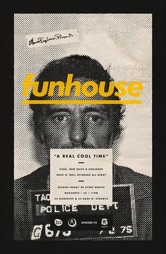 funhouse by Michael George Haddad, via Behance